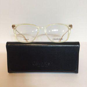 New Calvin Klein CK 18704 742 Crystal Ivory Eyegla